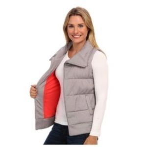 The North Face Gray Puffer Vest